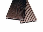Террасная доска двухсторонний Комфорт крупный вельвет с брашингом/текстура под дерево венге 25х145х3000 мм (0.44 кв.м.)