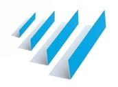 Уголок ПВХ Bauset TPL 100х100х0,8 белый матовый 3,0м
