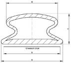Уплотнитель для модернизации окон DEVENTER на клеевой основе, ТЭП, черный
