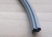 """Уплотнитель для профиля VEKA 254 (створка),серебристо-серый с голубым отливом, """"ELEMENTIS"""", ТЭП"""