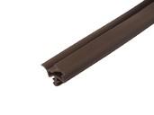 Уплотнитель контурный для межкомнатных дверей DEVENTER, ТЭП, темно-коричневый