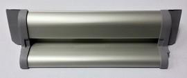 Профиль водоотводный с термовставкой, K29/27, алюминий, неокрашенный, АЛЮСТАРТ