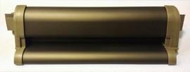 Профиль водоотводный с термовставкой, KL32, алюминий, бронза, АЛЮСТАРТ