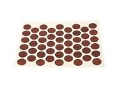 Заглушка самоклеящаяся d=14мм, орех красный