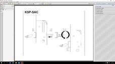 Многозапорный замок без ригеля с приводом от ручки удлиняемый 1950-2200 25/92 16мм ЭЦ4