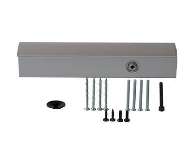 [ПОД ЗАКАЗ] Доводчик дверной Geze TS 4000 (EN-Size 1/2/3/4/5/6, с задержкой и демпфированием, без тяги, серебристый) Изображение