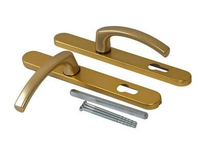 Гарнитур нажимной FKS подпружиненный, золото матовое 30A/1005/F3/TS72 Изображение