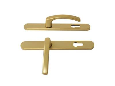 Гарнитур нажимной FKS подпружиненный, золото матовое 30A/1005/F3/TS72 Изображение 4