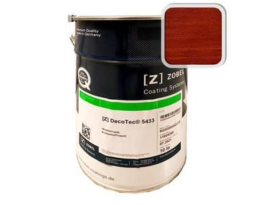 Атмосфероустойчивое масло Deco-tec 5433 BioWeatherProtectX, Махагон, 1л Изображение