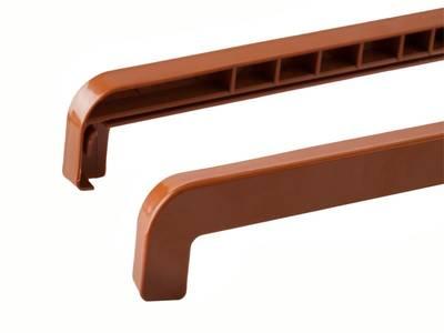 Накладка торцевая ABS к наружным сливам BAUSET (190-360 мм, левая / правая, золотой дуб) Изображение