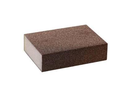 Блок шлифовальный зерно Р80 98х69х26мм ZF(мягкий) Изображение