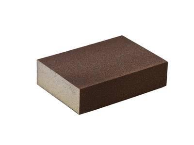 Блок шлифовальный зерно P100 98x69x26мм (жесткий) Изображение