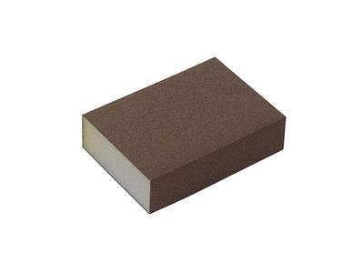 Блок шлифовальный зерно P100 98x69x26мм (жесткий) Изображение 3