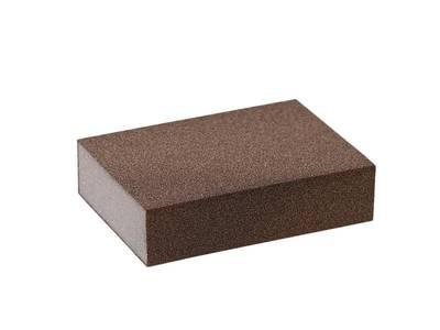 Блок шлифовальный зерно P100 98x69x26мм ZF(мягкий) Изображение