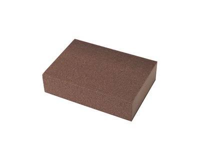 Блок шлифовальный зерно P100 98x69x26мм ZF(мягкий) Изображение 2
