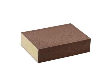 Блок шлифовальный зерно P120 98x69x26мм PF (жесткий) Изображение