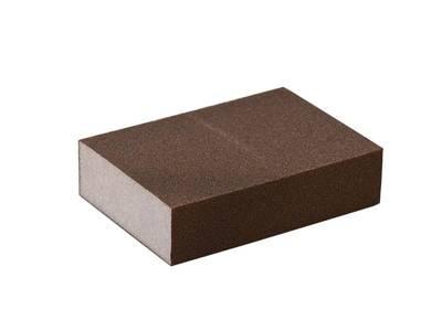 Блок шлифовальный зерно P120 98x69x26мм ZF(мягкий) Изображение