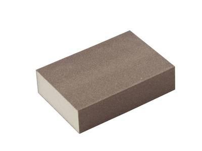 Блок шлифовальный зерно P120 98x69x26мм ZF(мягкий) Изображение 3