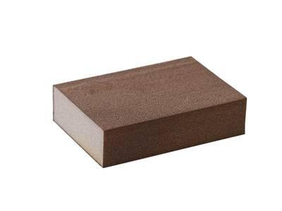 Блок шлифовальный зерно P180 98x69x26мм ZF(мягкий) Изображение