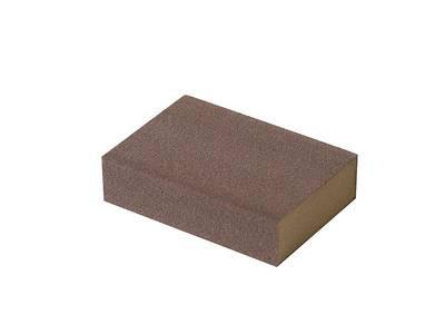 Блок шлифовальный зерно P180 98x69x26мм ZF(мягкий) Изображение 2