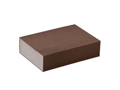 Блок шлифовальный зерно P220 98x69x26мм ZF(мягкий) Изображение