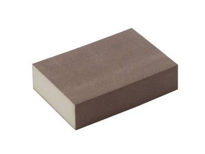 Блок шлифовальный зерно P220 98x69x26мм ZF(мягкий) Изображение 3