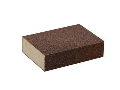 Блок шлифовальный зерно P60 98x69x26мм ZF(мягкий) Изображение
