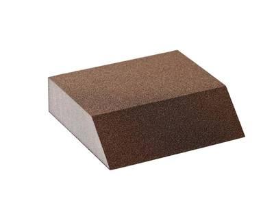 Блок шлифовальный Flexifoam Angle Block 98x86x26мм Р100 Изображение