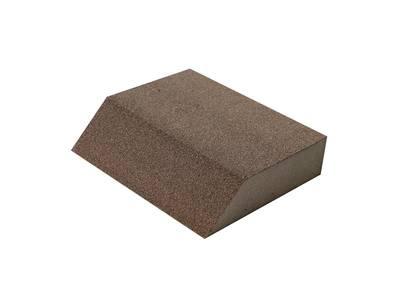 Блок шлифовальный Flexifoam Angle Block 98x86x26мм Р100 Изображение 3