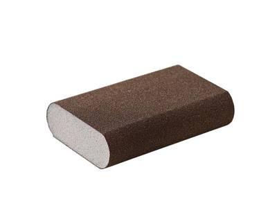 Блок шлифовальный Flexifoam Round Block  98x69x26мм Р100 Изображение