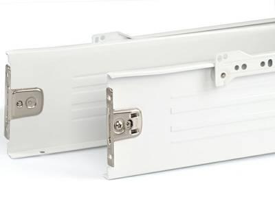 Боковины Firmax на роликовых направляющих, H=118 мм, L=400мм, белый (4 части) Изображение