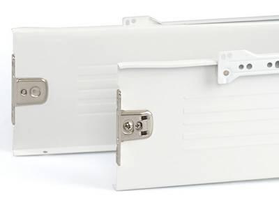 Боковины Firmax на роликовых направляющих, H=150 мм, L=400мм, белый (4 части) Изображение