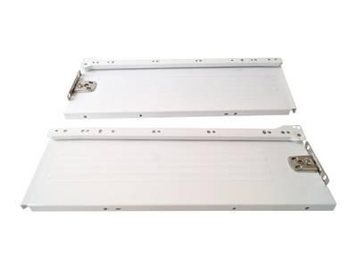 Боковины Firmax на роликовых направляющих, H=150 мм, L=400мм, белый (4 части) Изображение 2