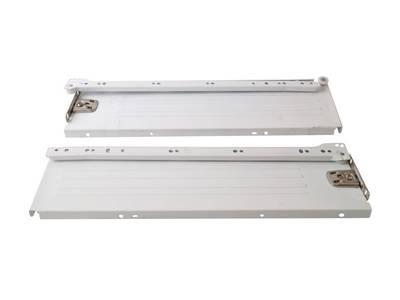 Комплект боковин на роликовых направляющих для выдвижного ящика Firmax (H=86 мм, L=270 мм, белый) Изображение 2