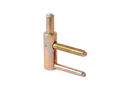 Петля ввертная, 4-штыревая, 3D, рамная часть, диаметр 20 мм, сталь, бихромат Изображение