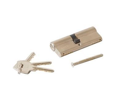 [ПОД ЗАКАЗ] Личинка замка двери Roto 40/45 (никелированный) Изображение 2