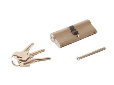 [ПОД ЗАКАЗ] Личинка замка двери Roto 40/70 (никелированный) Изображение 2