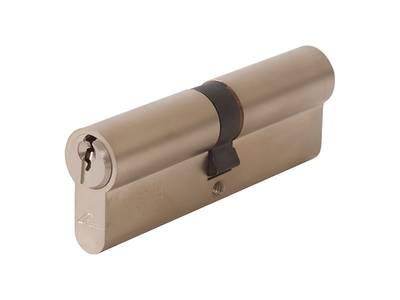Личинка замка двери Roto 45/45 (никелированный) Изображение