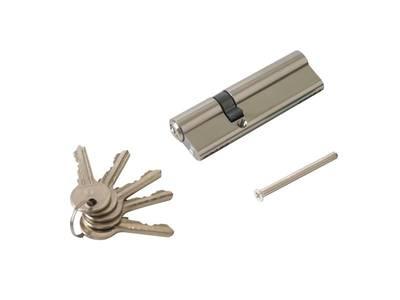 Цилиндр профильный ELEMENTIS 35/65, 5 ключей, никелированный Изображение 2