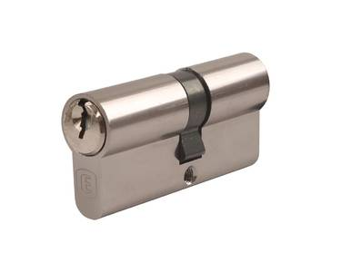 Личинка замка двери Elementis 35/35 (5 ключей, никелированный) Изображение 3