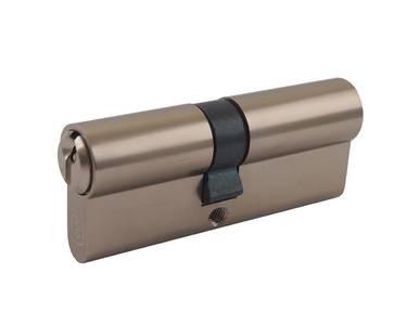 Личинка замка двери Elementis 35/40 (5 ключей, никелированный) Изображение 4