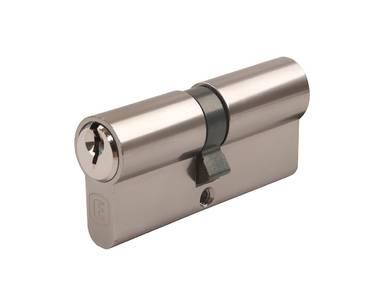 Личинка замка двери Elementis 35/45 (5 ключей, никелированный) Изображение 4