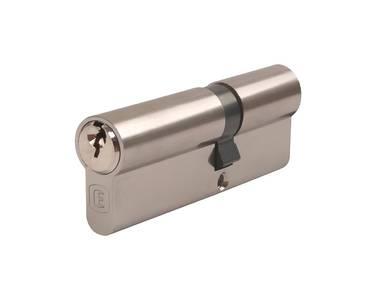 Цилиндр профильный ELEMENTIS 40/50, 5 ключей, никелированный Изображение 4