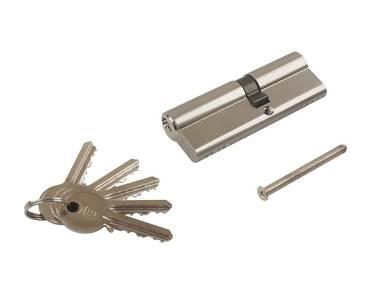 Цилиндр профильный ELEMENTIS 40/50, 5 ключей, никелированный Изображение 5