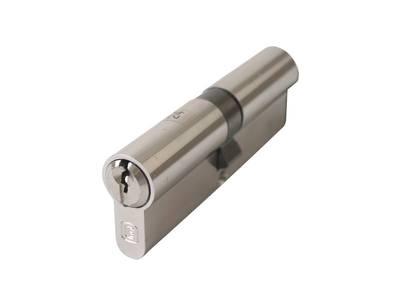Цилиндр профильный ELEMENTIS 45/45, 5 ключей, никелированный Изображение 2