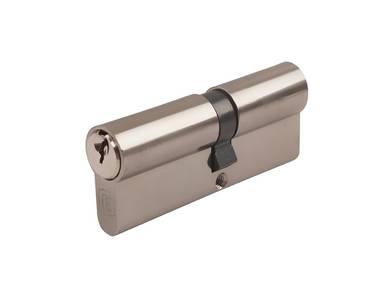 Цилиндр профильный ELEMENTIS 45/45, 5 ключей, никелированный Изображение 4