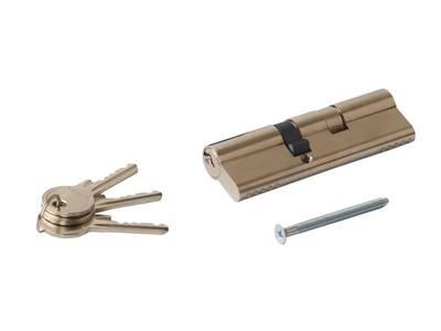 Цилиндр профильный MAXBAR 847/K 40-60, никелированный Изображение 3