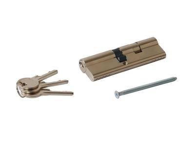 Цилиндр профильный MAXBAR 847/K 45-55, никелированный Изображение 3