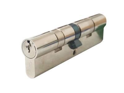 [ПОД ЗАКАЗ] Личинка замка двери Titan 55/55 (никелированный) Изображение 3