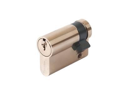 Цилиндр профильный MAXBAR 848/K 10-35, никелированный Изображение